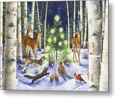 Christmas Magic Metal Print by Lynn Bywaters