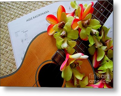 Christmas Mele Metal Print by Mary Deal