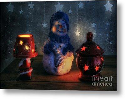 Christmas Ornaments Metal Print by Ian Mitchell