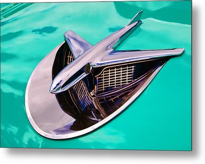 Chrome Aircraft Metal Print by Phil 'motography' Clark