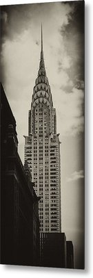 Chrysler Metal Print by Andrew Paranavitana