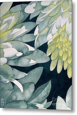 Chrysanthemums Metal Print by Robert Hooper