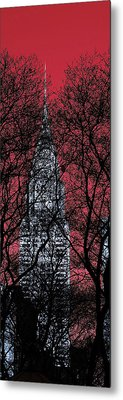 Chrysler Building 8 Metal Print by Andrew Fare