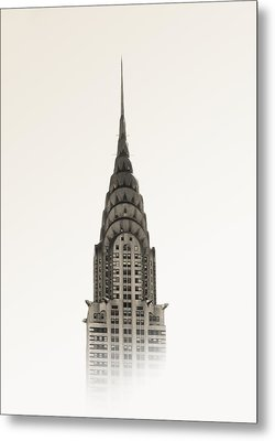 Chrysler Building - Nyc Metal Print by Nicklas Gustafsson