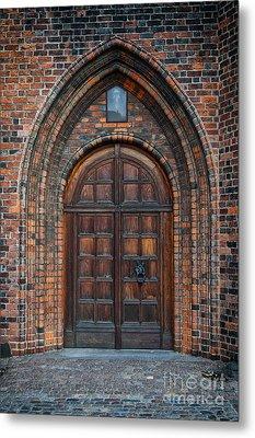 Church Door Metal Print by Antony McAulay