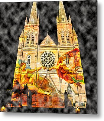 Church Images Metal Print by Miroslava Jurcik