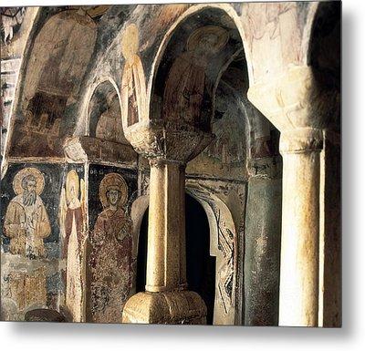 Church Of Saint Naum. Macedonia. Ohrid Metal Print by Everett