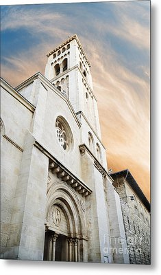Church Of The Redeemer In Jerusalem Metal Print by Jelena Jovanovic