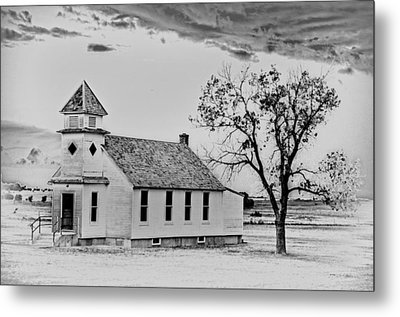 Church On The Plains Metal Print by Marty Koch
