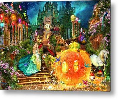 Cinderella Variant 1 Metal Print by Aimee Stewart