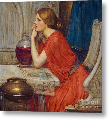 Circe Metal Print by John William Waterhouse