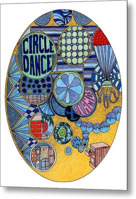 Circle Dance Metal Print by Gregory Carrico