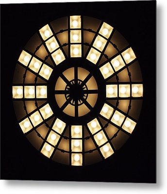Circle In A Square Metal Print by Rona Black