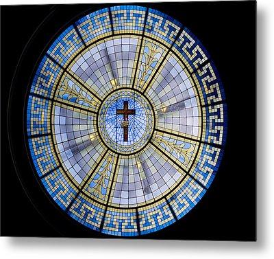 Circle Of Christ Metal Print by Dee  Savage