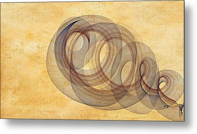 Circle Of Life Metal Print by Marian Palucci-Lonzetta