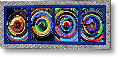 Circulation Metal Print by Wendy J St Christopher