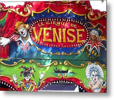 Circus Centerpiece Metal Print by France  Art