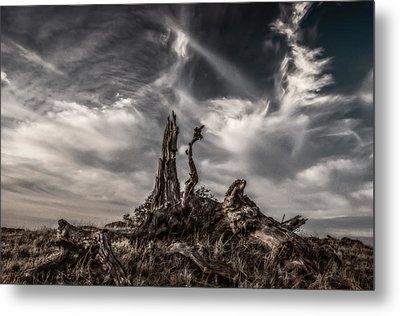 Cirrus Clouds At Sunset  Metal Print by Marc Crumpler