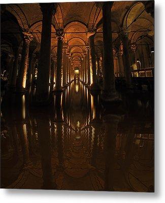 Cisterna Basilica Metal Print by Ivana Miletic