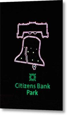 Citizens Bank Park Home Run Metal Print by Lisa Phillips