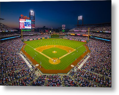 Citizens Bank Park Philadelphia Phillies Metal Print by Aaron Couture