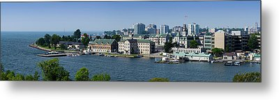 City At The Waterfront, Kingston Metal Print by Panoramic Images