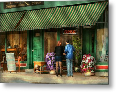City - Canandaigua Ny - Buyers Delight Metal Print by Mike Savad