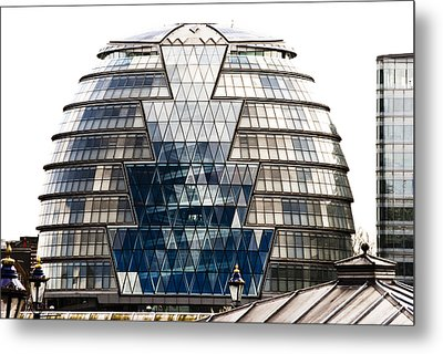 City Hall London Metal Print by Christi Kraft