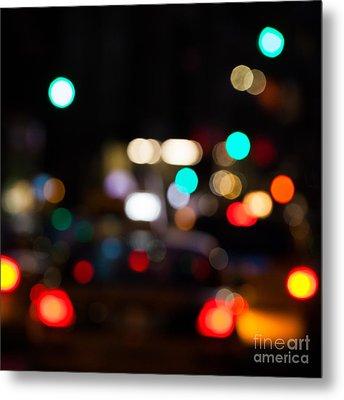 City Lights  Metal Print by John Farnan