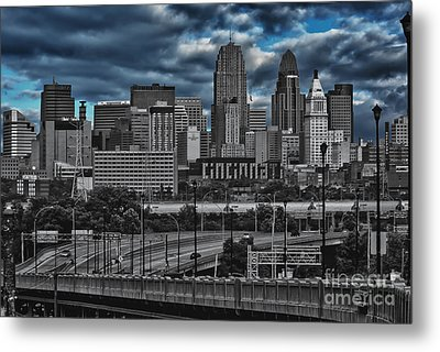 City Of Color Metal Print by Steve Johnson