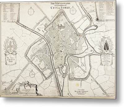 City Of York Metal Print by British Library