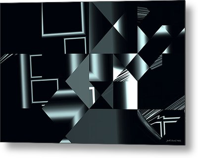City Smart Metal Print by Judi Suni Hall