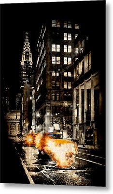 City Streets  Metal Print by Az Jackson