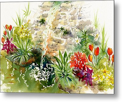 Civic Conservatory Metal Print by Pat Katz