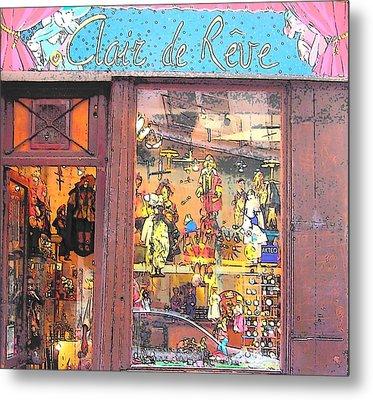 Clair De Reve Metal Print by Jan Matson