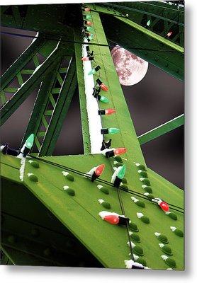 Clarence's Bridge Metal Print by Tom Romeo
