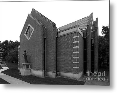 Clarke University Sacred Heart Chapel Metal Print by University Icons