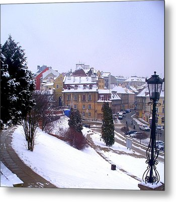 Classic Beauty Lublin Poland  Metal Print by Rick Todaro
