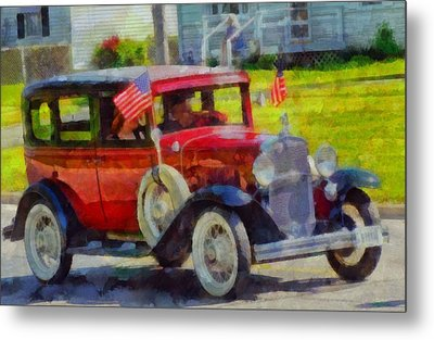 Classic Cars American Tradition Metal Print by Dan Sproul