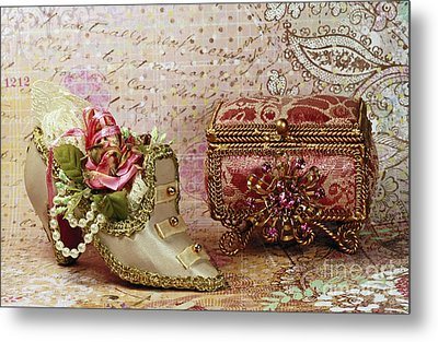 Classic Victorian Moments Metal Print by Inspired Nature Photography Fine Art Photography