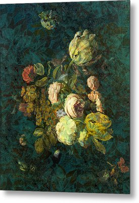 Classical Bouquet - S04bt01 Metal Print by Variance Collections