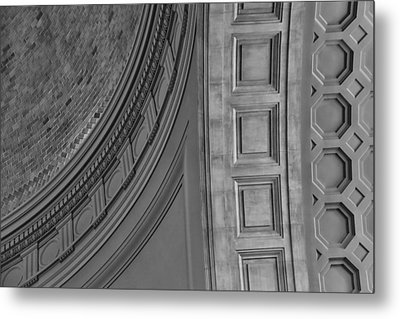 Classical Dome And Vault Detail Metal Print by Lynn Palmer