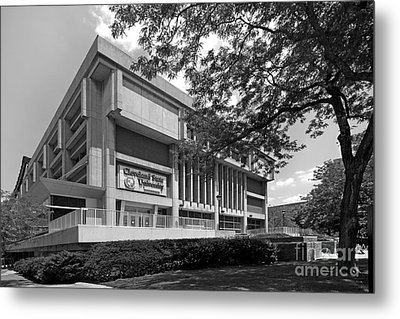 Cleveland State University Center Metal Print by University Icons