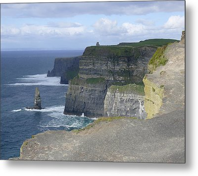 Cliffs Of Moher 4 Metal Print by Mike McGlothlen