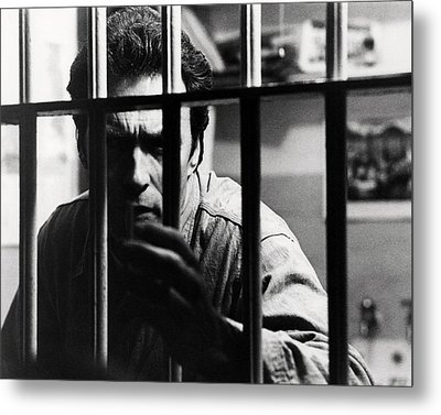 Clint Eastwood In Escape From Alcatraz  Metal Print by Silver Screen