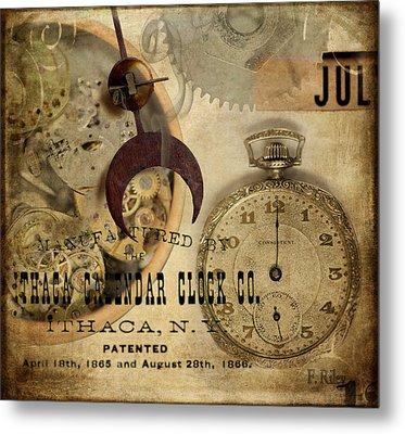 Clockworks Metal Print by Fran Riley