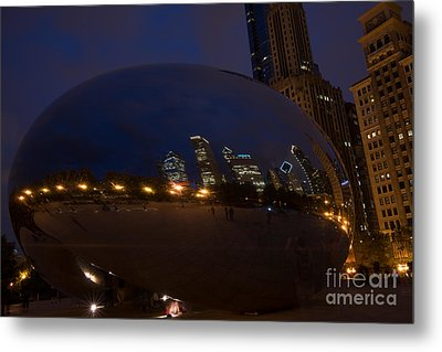 Cloud Chicago Metal Print by Will Cardoso