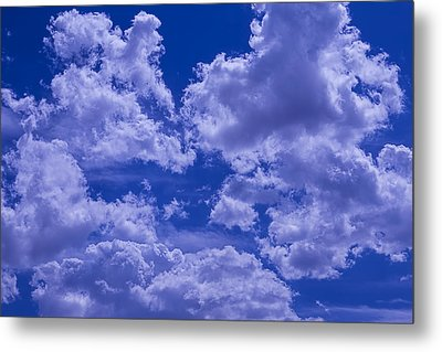 Cloud Watching Metal Print by Garry Gay