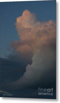 Clouds Meeting Metal Print by Tannis  Baldwin
