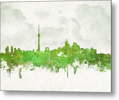 Clouds Over Toronto Canada Metal Print by Aged Pixel